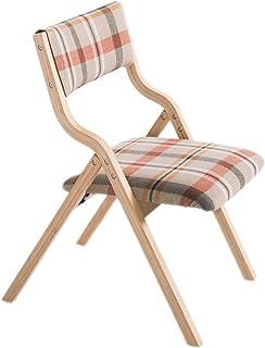 RXL-Sedie Sedia da Pranzo in Legno massello Moderna Sedia da casa Minimalista (Colore : C)