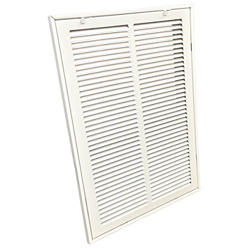 EZ-FLO 61670 Steel Return Air Filter Grille for Sidewall and Ceiling Installation, 14