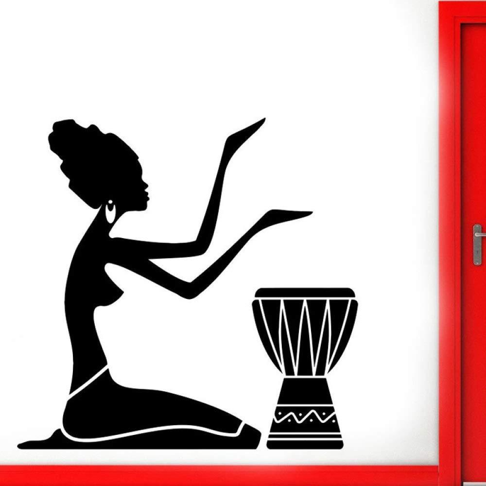 Geiqianjiumai Tribal Africano Baterista bailarín Desmontable ...