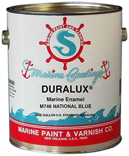 CALIFORNIA PRODUCTS M748-4 Marine Paint, National Blue