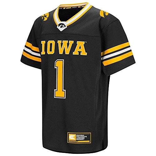 Youth NCAA Iowa Hawkeyes Football Fashion Jersey (Team Color) - L