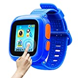 Game Smart Watch Of Kids, Girls Watch With Game ,Kids Smartwatch With Game Wrist Watch Education Toys Boys Girls Gifts (Dark Blue)