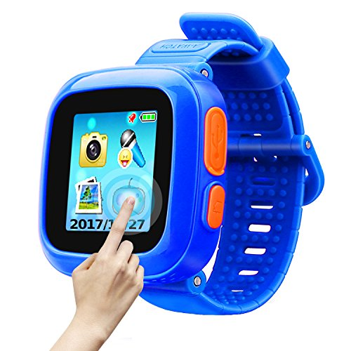 Game Smart Watch Of Kids, Girls Watch With Game,Kids Smartwatch With Game Wrist Watch Education Toys Boys Girls Gifts (Dark Blue) by TTHO