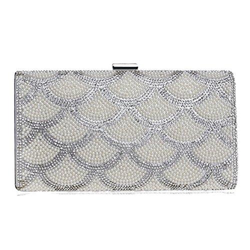 Eysee - Polyester Shoulder Bag For Silver Woman