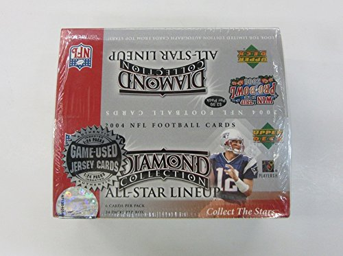 2004 Upper Deck Diamond Collection All-Star Lineup Football Box (Diamond Collection Baseball Box)