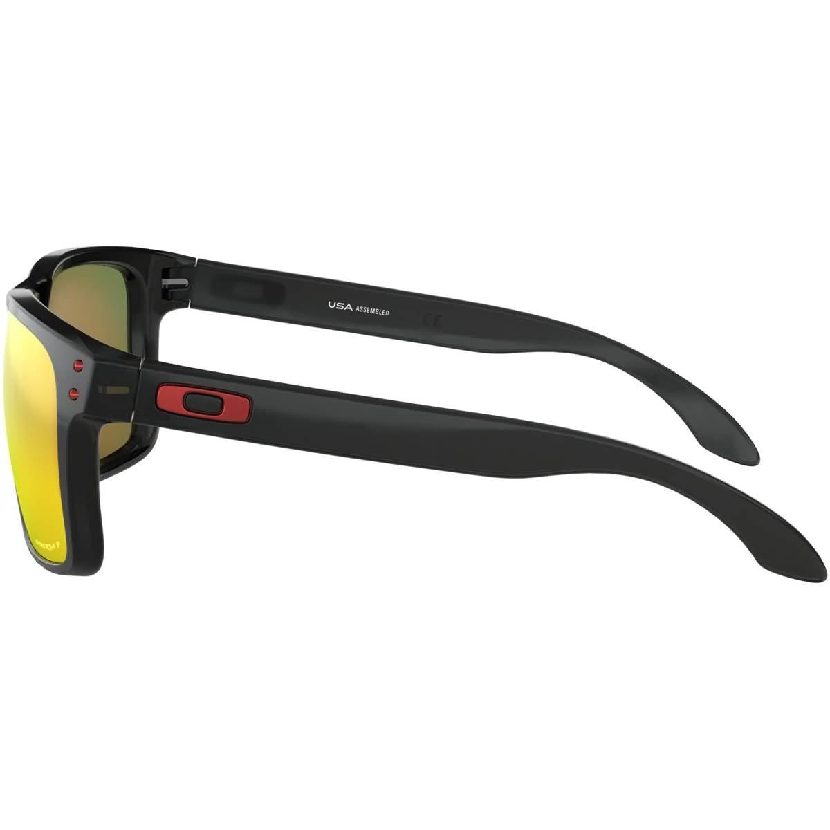 67d9d2291 Amazon.com: Oakley Men's Holbrook XL Polarized Iridium Square Sunglasses,  Black Ink, 59.0 mm: Clothing