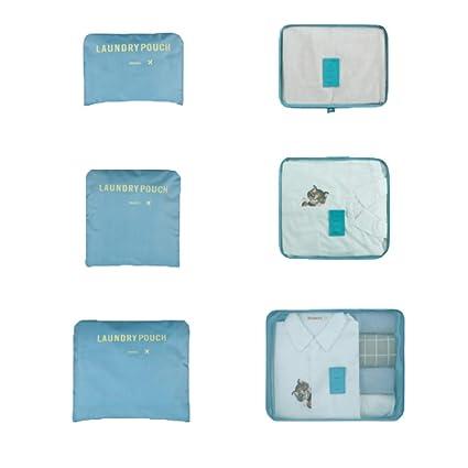 4973eb5b344b Amazon.com: Sarazong Packing Cubes,Set of 6 Luggage Organisers ...