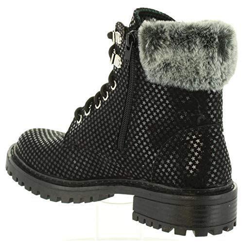 Pour Femme 999 Pepe Black Jeans Bottines Collie Pls50337 qUPFPH
