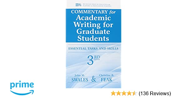 Amazon Commentary For Academic Writing For Graduate Students