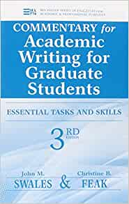 Academic Writing for Graduate Students: Essential tasks and skills, Second Edition