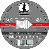 David Nickerson Magnum Point 0.22 Pellets -Tin of 500