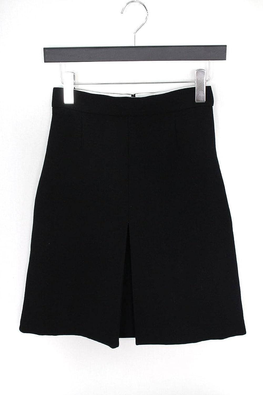 (セリーヌ) CELINE ボックスプリーツスカート(34/ブラック) 中古 B07FP757V9  -