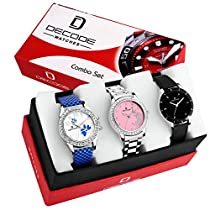 Ladies Combo of 3 Watch(WX321)