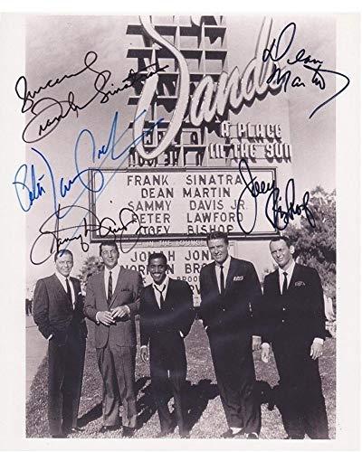 THE RAT PACK - Reprint 8x10 inch Photograph - VINTAGE Frank Sinatra Dean Martin Sammy Davis Jr Peter Lawford and Joey Bishop