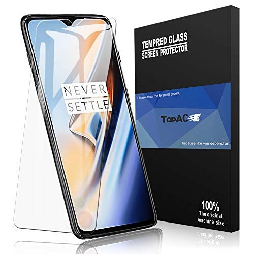 TopACE OnePlus 6T Screen Protector Full Coverage Soft Skin Flexible TPU Film Compatible for OnePlus 6T (2-Pack)