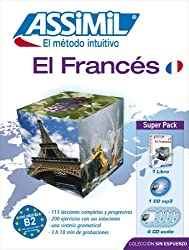 Superpack El Francés (Livre+4CD audio+1CD mp3)