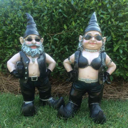 [Homestyles - Nowaday Gnomes - Biker Gnomes -
