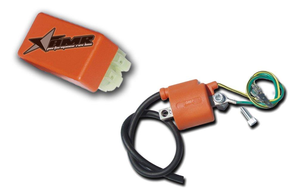 AMR Racing COIL /& REV Box COMBO Upgrade for Honda ATV TRX400EX TRX400 1999-2008 Stage 2 COMBO