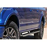 "iBoard Running Boards 4"" 15-16 Ford F-150 SuperCrew Cab"