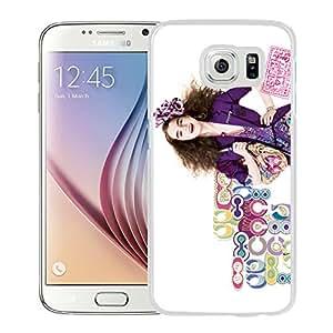 Beautiful Coach 73 White Samsung Galaxy S6 Screen Cellphone Case Handmade and Fashion Custom Designed