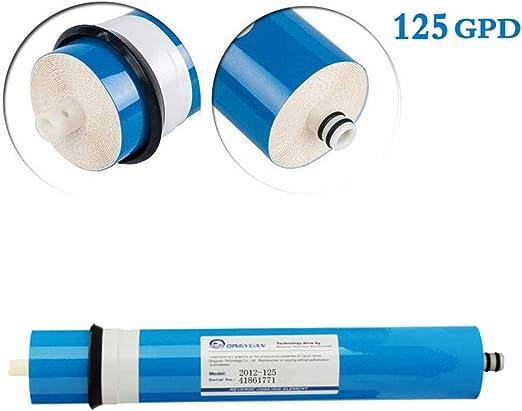 CXQZLH Membrana De Ósmosis Inversa 2012-125GPD Filtro De Repuesto ...