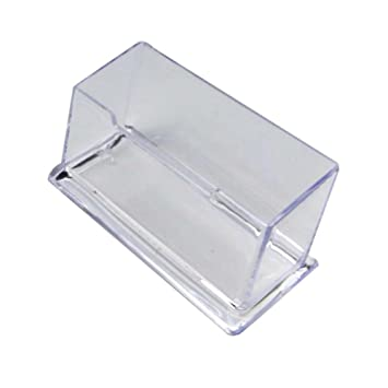 Blue vessel stationery clear acrylic business card box business card blue vessel stationery clear acrylic business card box business card organiser business card book reheart Image collections