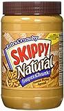 skippy all natural peanut butter - Skippy Super Chunk Natural Peanut Butter Spread, 40 oz