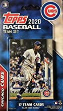 Chicago Cubs 2020 Topps Factory Sealed Limited Edition 17 Card Team Set with Kris Bryant and Javier Baez Plus