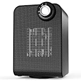 quiet fan heater - OPOLAR Ceramic Heater for Desk Office Rv, 1000/1500W Rotating Space Heater with Thermostat, Small Portable Safe and Quiet for Indoor Rooms