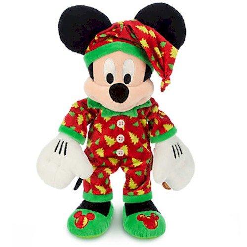 Disney Mickey Mouse Plush - Holiday Pajamas - Medium - 15'' ()