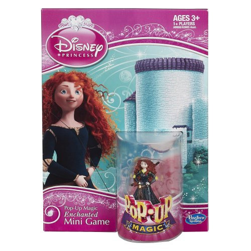 Disney Pop-Up Magic Enchanted Mini Game Featuring Merida by Hasbro