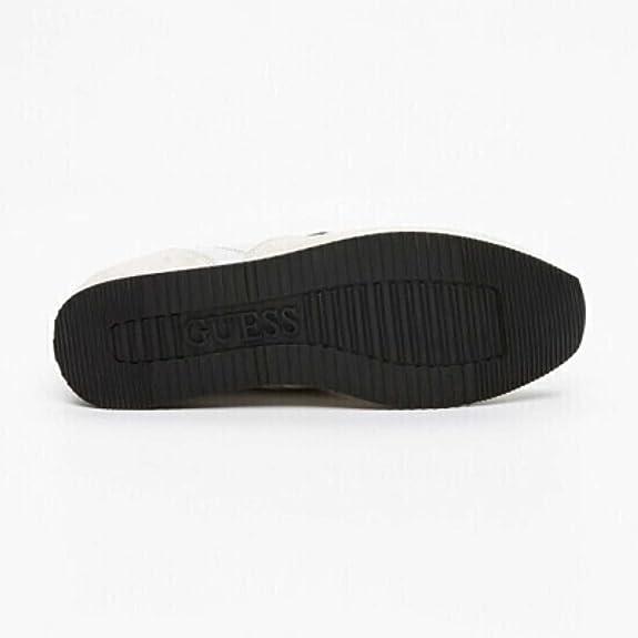 Sneakers Guess. FM1MRV. en nubuck beige et blanc Réf. FM1MRV-SUE12-OWHIT AViMc