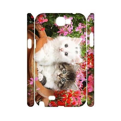 Amazon.com: ALI Hard Lovely Cat 3D Diy For LG G3 Case Cover ...