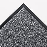 Crown Cordless Stat-Zap Carpet Top Mat, Polypropylene, 36 by 60, Pewter (SPNC35PE)