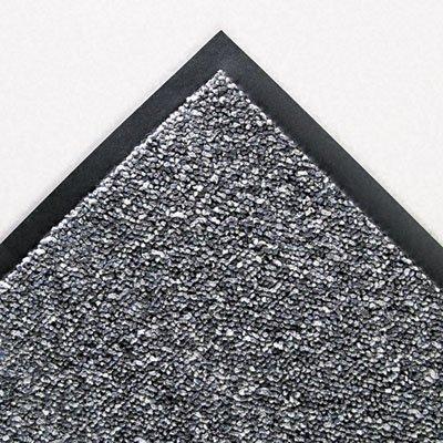 Crown Cordless Stat-Zap Carpet Top Mat, Polypropylene, 36 by 60, Pewter (SPNC35PE)