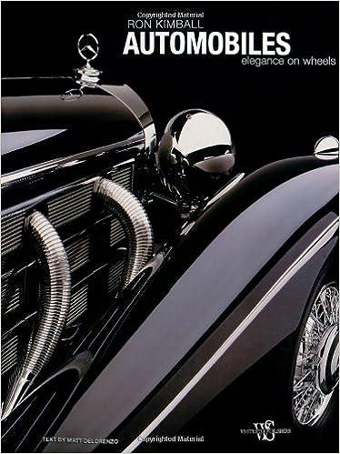 amazon automobiles elegance on wheels matt de lorenzo ron