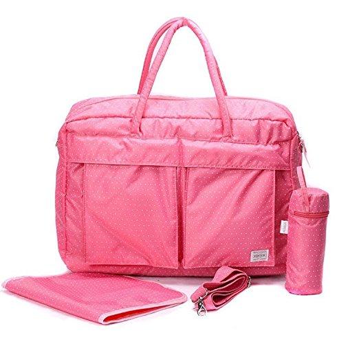 Nappy Bags 5pcs In 1 Multi Function Baby Care Large Capacitybaby Diaper Tote Bag Women Shoulder Messenger Handbag Travel (Diaper Genie Refill Generic)