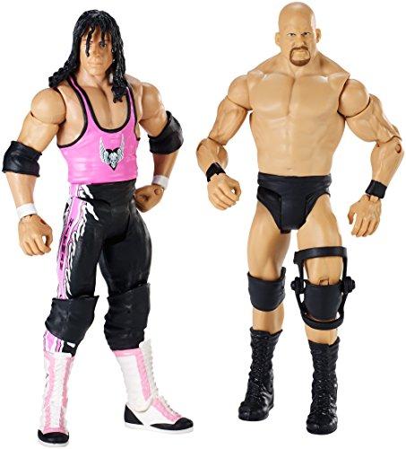 World Wrestling Entertainment Toy - WWE Wrestlemania 6 Inch Action Figure Steve Austin vs Bret Hart
