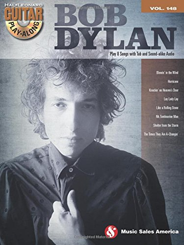 Bob Dylan: Guitar Play-Along Volume 148 (Hal-Leonard Guitar Play-Along)