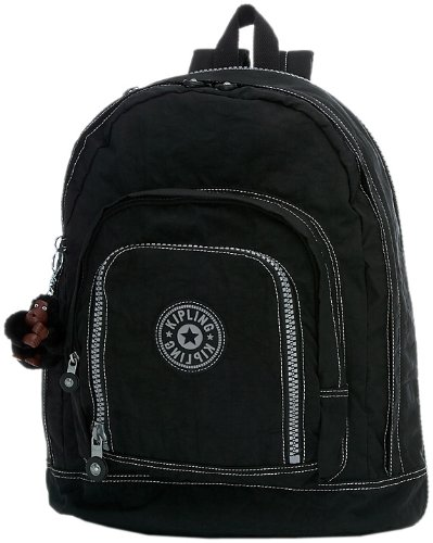 Kipling Hal Expandable Backpack, Black, One Size
