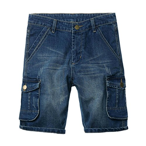 Hzcx Fashion Pockets Distressed Shorts product image