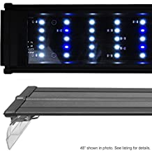Beamswork 48 DA 120 LED Aquarium Light Pent Marine FOWLR Cichlid 120x 0.50W by BeamsWork