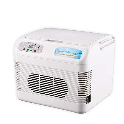 Portátil Mini frigorífico Refrigerador y Calentador Eléctrico TermoEléctricoa Eficiencia energética Nevera Hogar Hotel Oficina -A