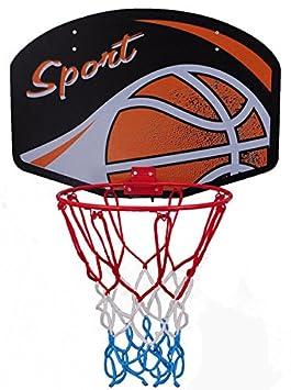 Baloncesto Tarjeta Aba cesta de baloncesto con red de baloncesto Back Board para niños Tabla con cesta y baloncesto Baloncesto Anillo Indoor, Ball