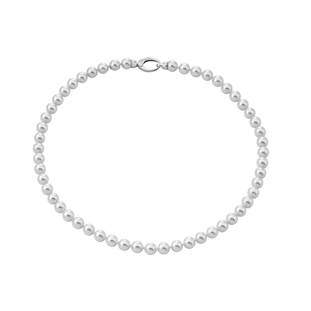 Majorica necklace 098660120210101 woman silver Classic