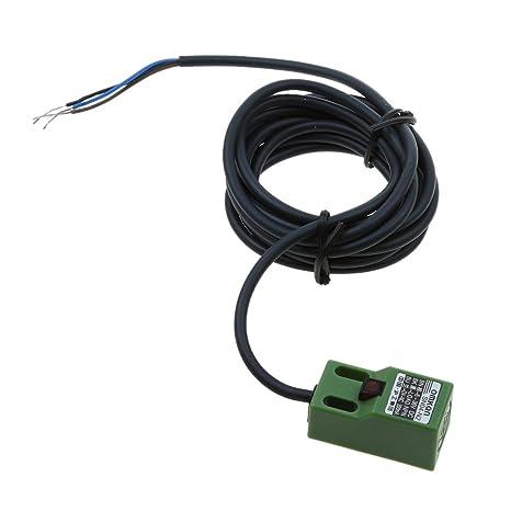 MagiDeal Sn04-n DC 10-30V NPN Detector de Proximidad Inductivo Con Sensor 3