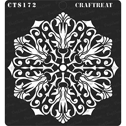 CrafTreat Stencil - Flourish Doily | Reusable Painting for sale  Delivered anywhere in Canada