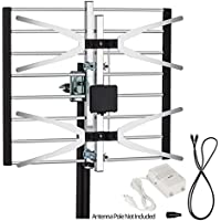 ViewTV VT-0958A Digital Amplified Outdoor / Indoor Attic HDTV Antenna - 120 Miles Range
