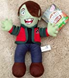 "Zombie High 12"" Tall Brunette Nerd Zombie Plush Doll By Sugar Loaf"