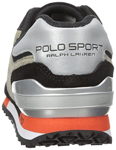 Polo Ralph Lauren Mænds Slaton Pony Mode Sneaker Sort 4Smm1yIC